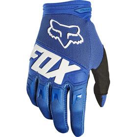 Fox Dirtpaw Race Gloves Jungen blue
